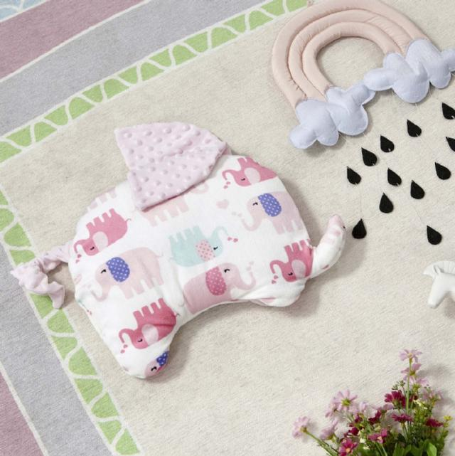 嬰幼兒/寶寶 安心豆豆枕~親膚柔軟