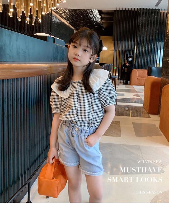 韓版格子襯衫