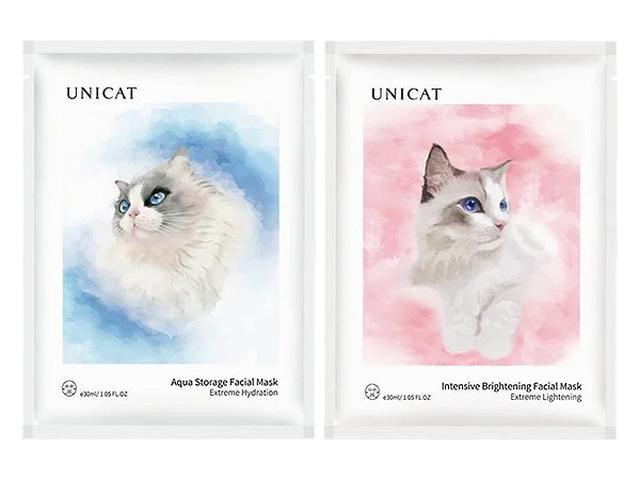 UNICAT變臉貓 超導 水潤保濕/瑩潤亮膚 奶皮面膜