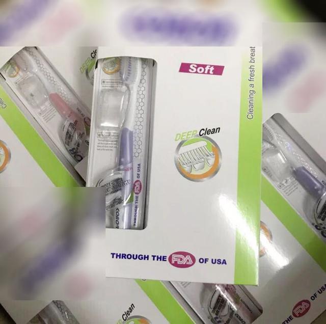 濃密雙重植毛超細軟毛牙刷12入+贈牙刷套~盒裝清潔成人牙刷