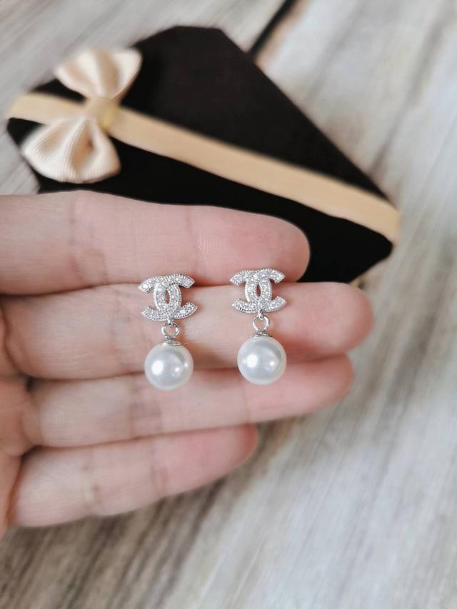 香港🇭🇰純銀香香珍珠耳環
