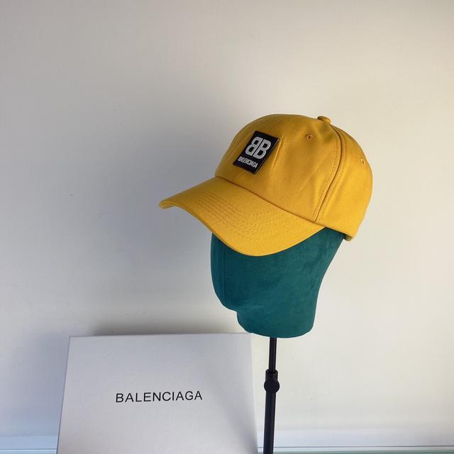 【巴黎世家】2020專櫃簡約風新款帽子棒球帽 16001507