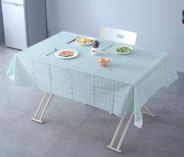 (預購S) 格紋防水防油餐桌布