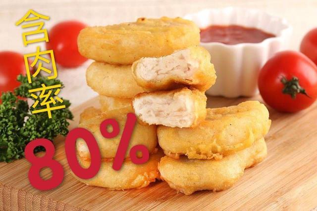 80%含肉率 優鮮雞塊 1000g/500g