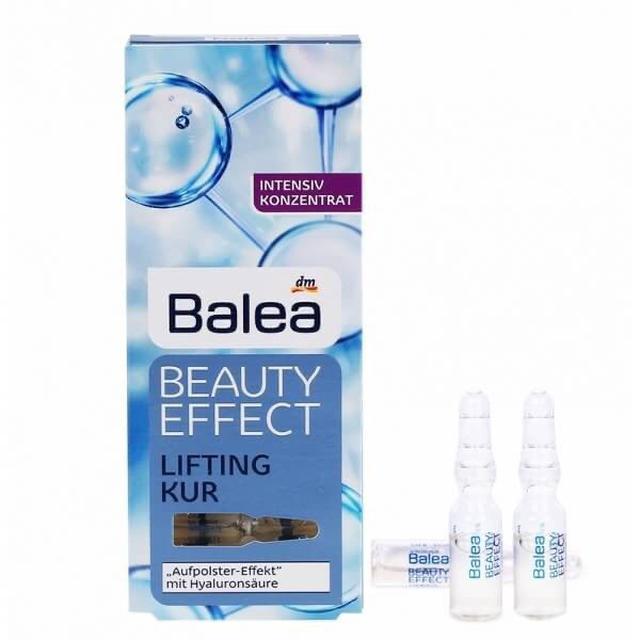 德國美妝好物推薦---『 德國Balea玻尿酸原液保濕緊緻煥彩安瓶 』 ,一盒7入 (7*1ml)