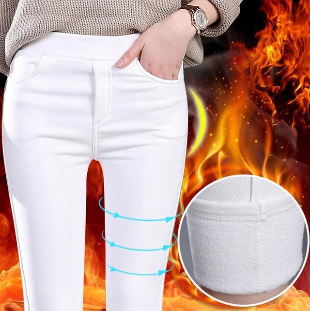 韓版時尚簡約緊身彈力休閒褲