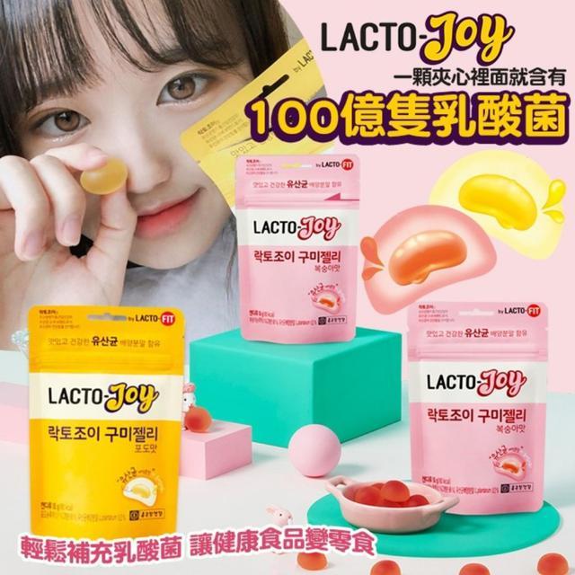 廠現 韓國 LACTO-Joy 鍾根堂 乳酸菌啾爆夾心軟糖