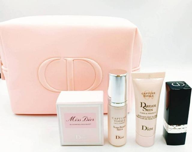 【Dior迪奧夢幻美肌萃4件套化妝包組】