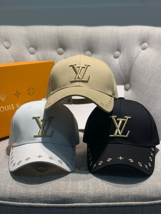 Loui¥@s Vuitton专柜原单路易威登家鸭舌帽,精致细腻小logo 简单大方 男女通用、