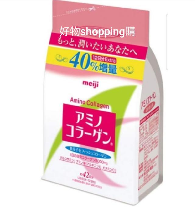 😊明治膠原蛋白粉補充包42天300g