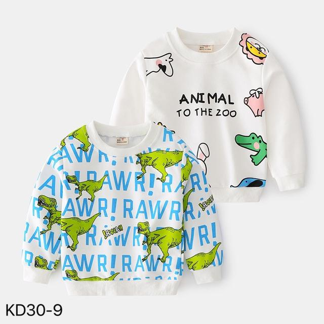 KD30-9  韓版可愛動物休閒上衣