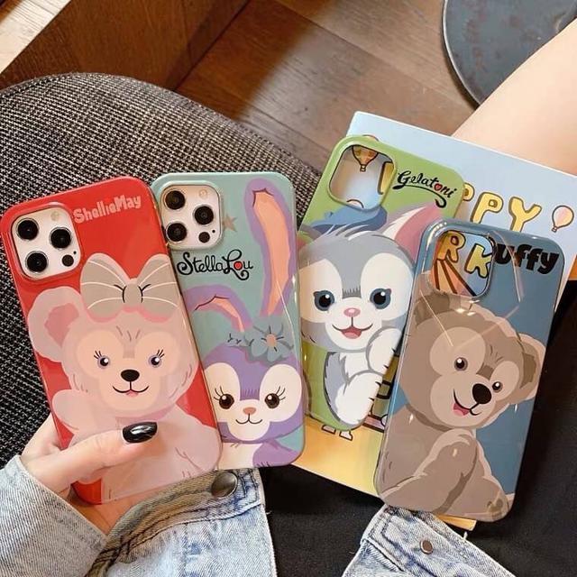 超Q達菲熊家族系列手機殼🐻