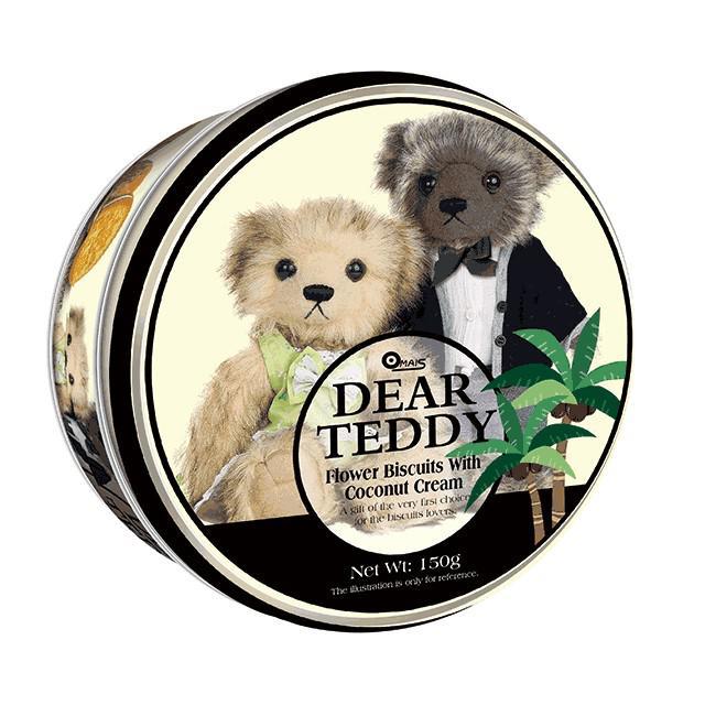 預購 親愛的泰迪夾心餅乾 鳳梨、椰子150g