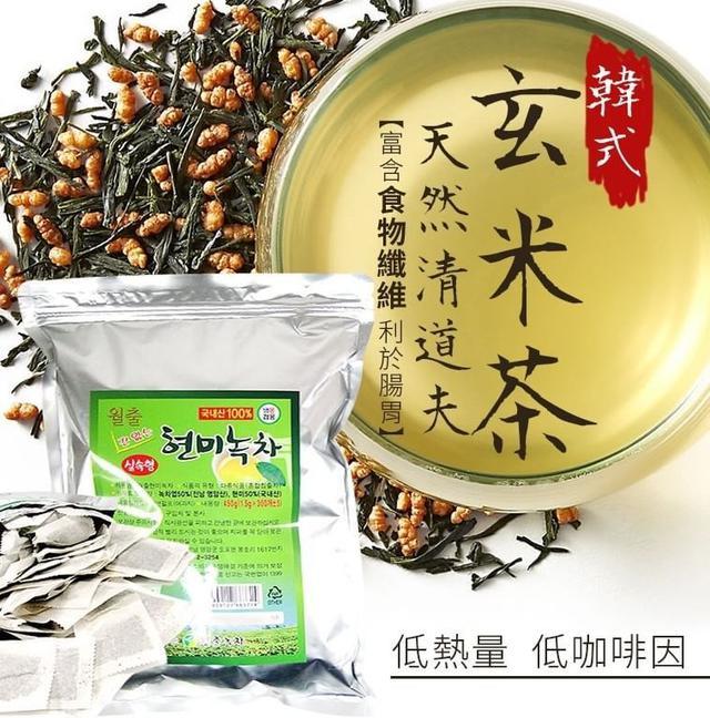 韓式 玄米綠茶 200包入(夾鏈袋包裝)