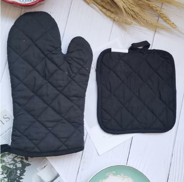 (預購s+) A024-烘培卡通隔熱手套隔熱墊兩件套