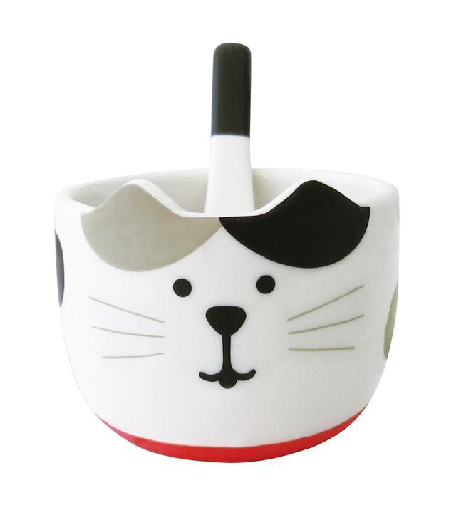 現貨 日本 Decole 貓咪 冰淇淋碗 陶瓷碗
