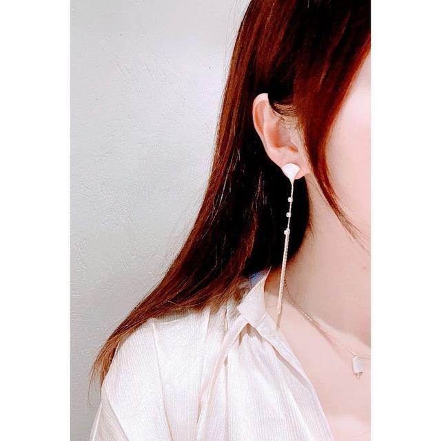 🌟現貨🌟韓國潮流貝殼流蘇耳環