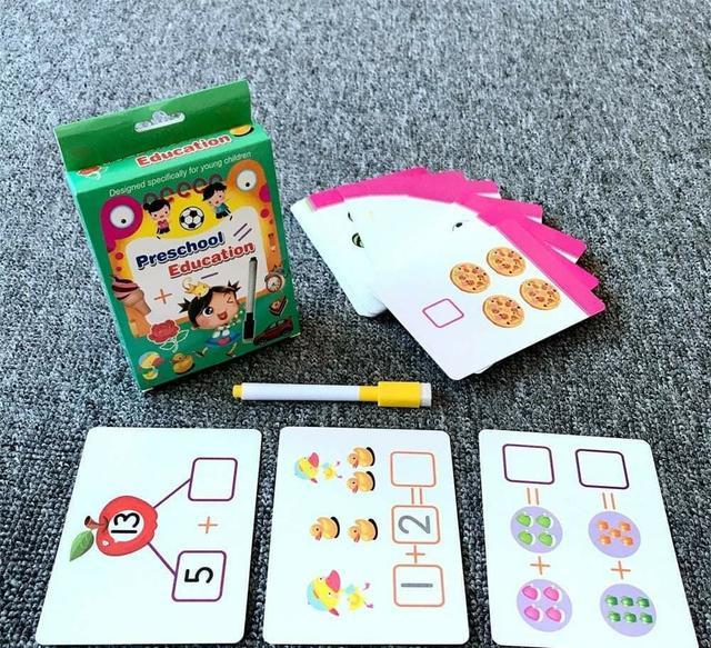 (預購S) G604 - 撕不爛可重複練習學習卡片