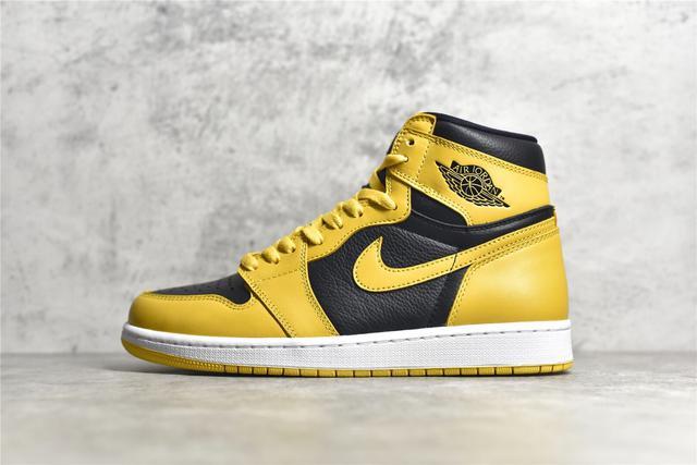 Air Jordan 1 黑黃
