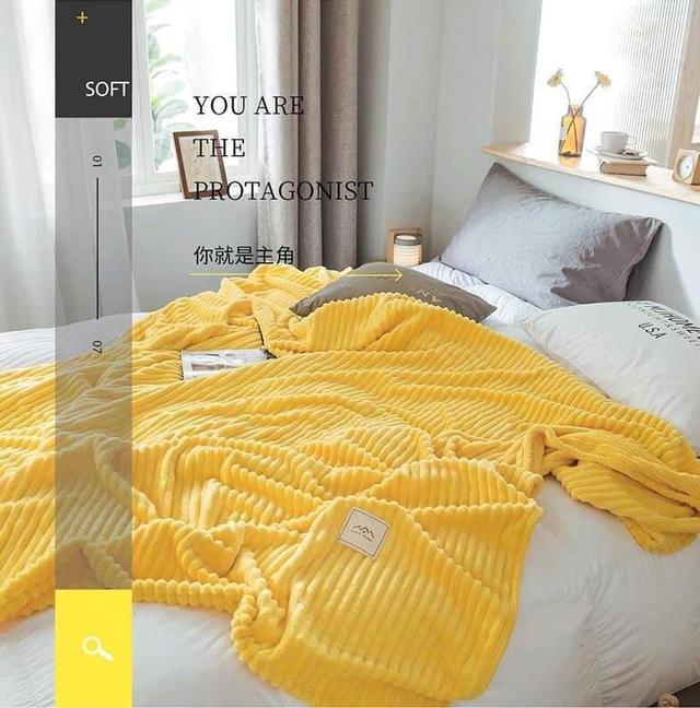 極柔牛奶絨法蘭絨保暖毛毯