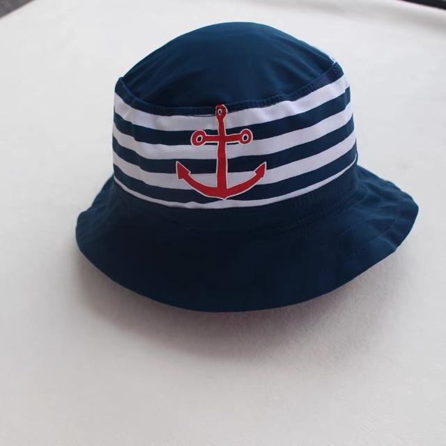 海軍風沙灘遮陽帽
