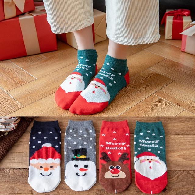 聖誕棉襪4雙