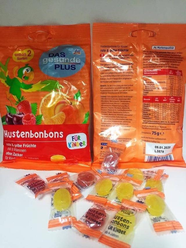 德國🇩🇪預購 DAS gesunde PLUS 🎀兒童潤喉糖-75g