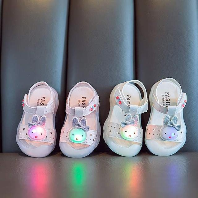 【預購】女童兔子涼鞋
