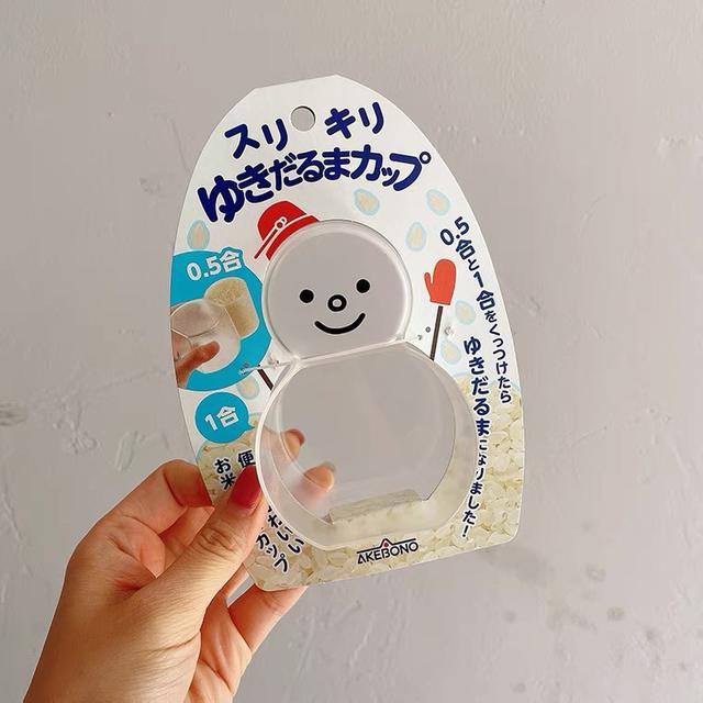 日本🇯🇵可愛雪人多功能量杯