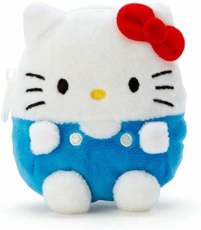 造型絨毛零錢包-凱蒂貓
