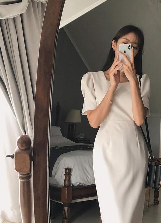 正韓方領連身裙