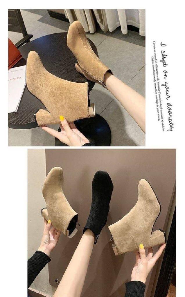 🔥韓版絨面防滑短靴🔥  A183332