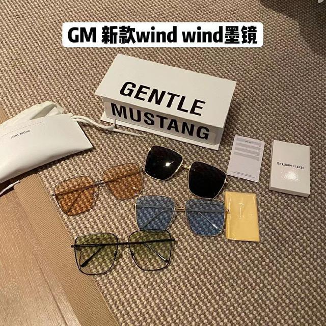 GM新款漸變墨鏡+顏色