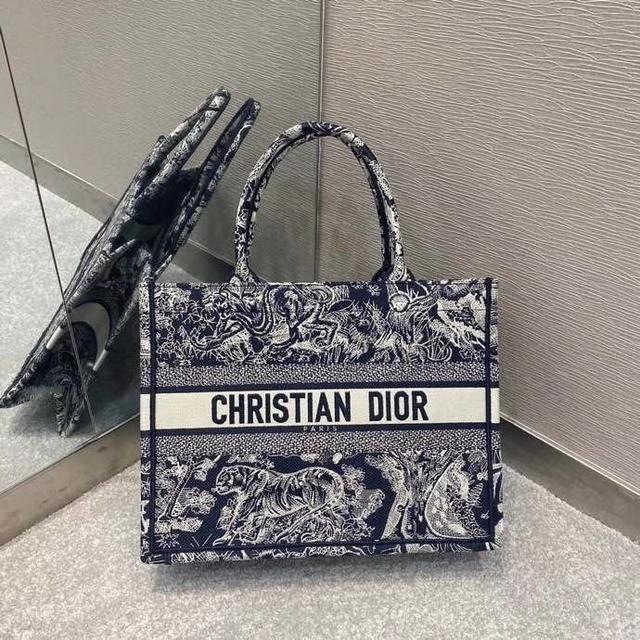 頂級原單Dior刺繡藍老虎