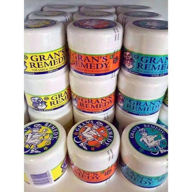 (預購e) 紐西蘭 Gran's Remedy 老奶奶神奇除臭腳粉