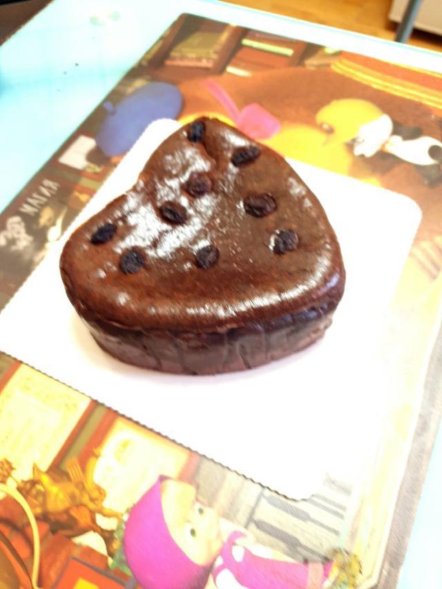 爆漿巧克力巴斯克重乳酪蛋糕