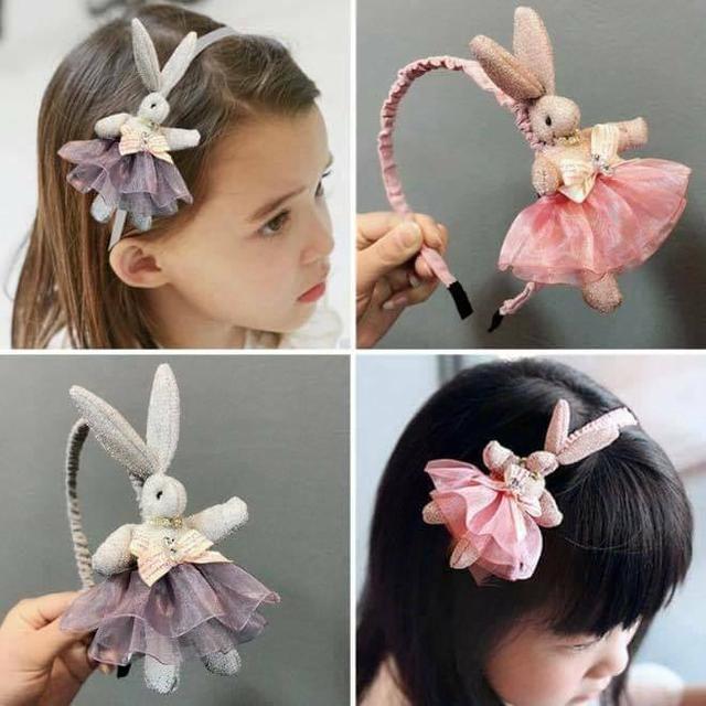 韓國女童公主超萌芭蕾兔子髮箍