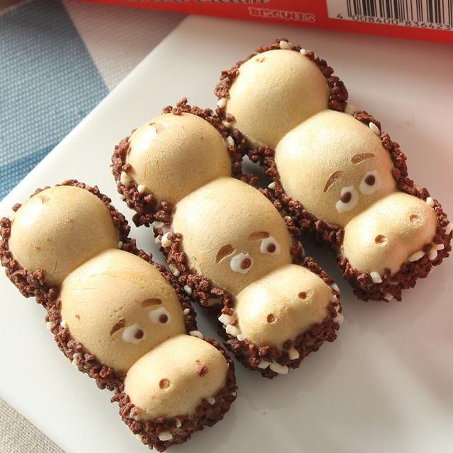 英國進口開心河馬榛子牛奶夾心巧克力103g可愛小朋友禮物兒童零食