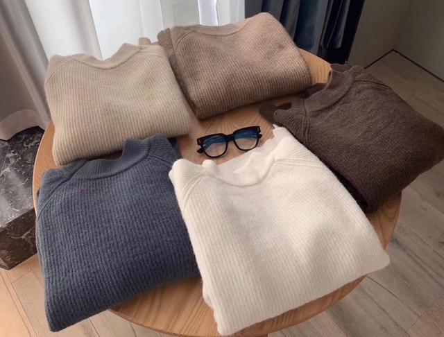 BBMI素色羊毛毛衣韓國服飾批發