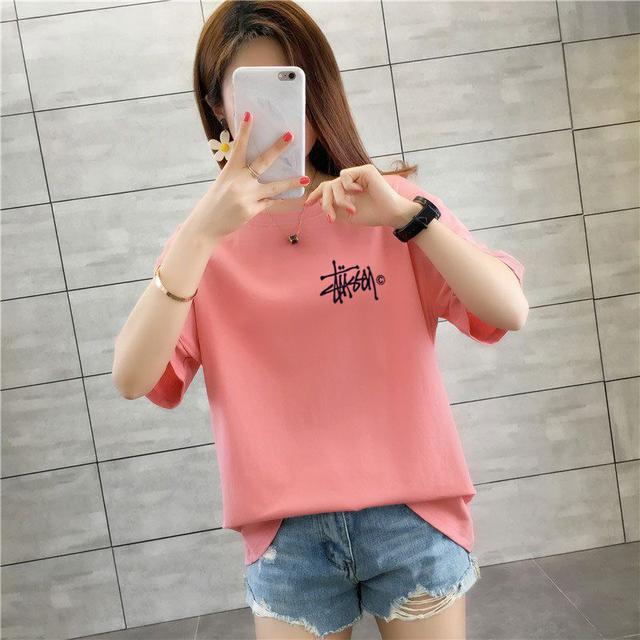 ⚕️預購⚕️韓版寬鬆字母T恤(大碼)