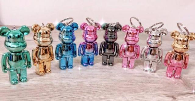 現貨#超夯八款電鍍暴力熊鑰匙扣配件🐻