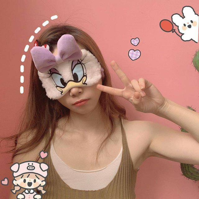(預購S) G421 - 迪士尼卡通軟綿綿毛絨眼罩