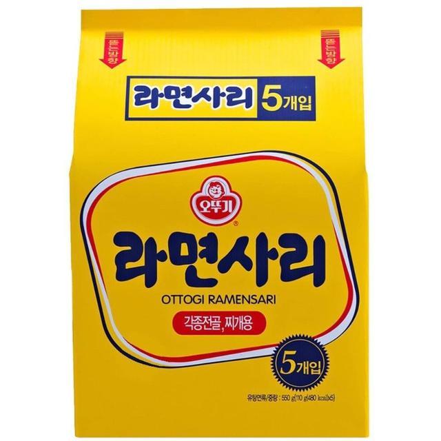 預購 韓國 🇰🇷不倒翁 Q拉麵(無調味料)1入