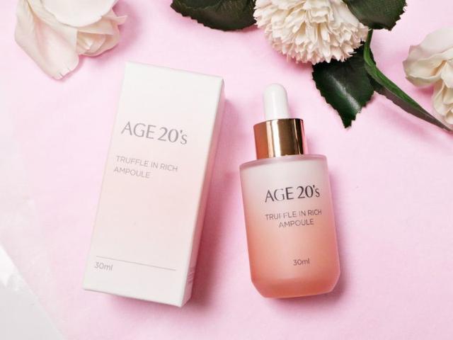 韓國 AGE20's TRUFFLE 松露奢潤滋養安瓶 30ml