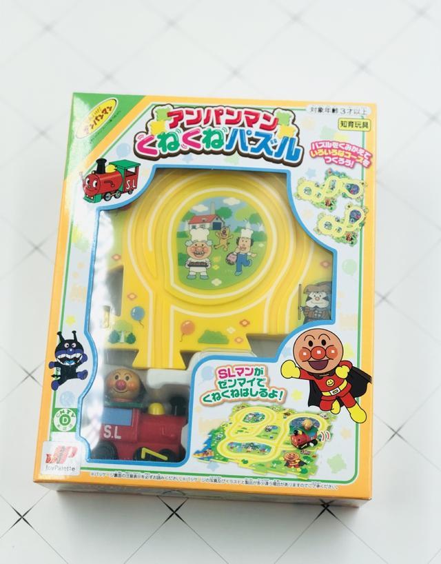 日本麵包超人地圖小火車玩具組