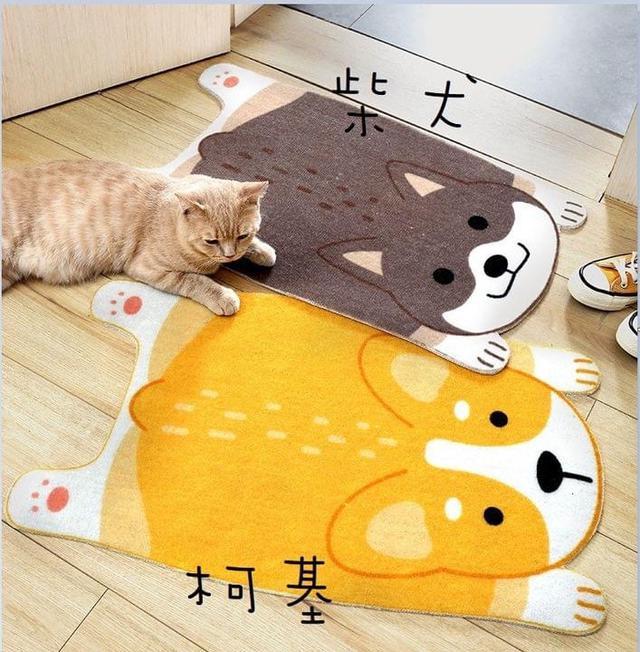 #預購寵物造型地墊/腳踏墊