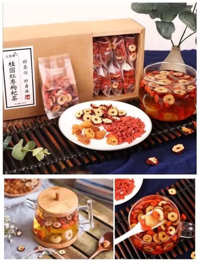 枸杞桂圓紅棗片300g(20包入)