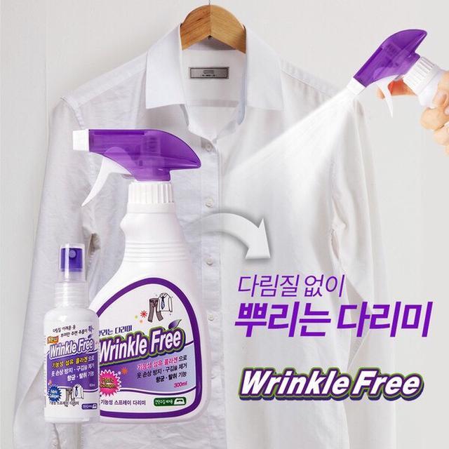 韓國 Wrinkle Free 衣物除皺噴霧 60ml