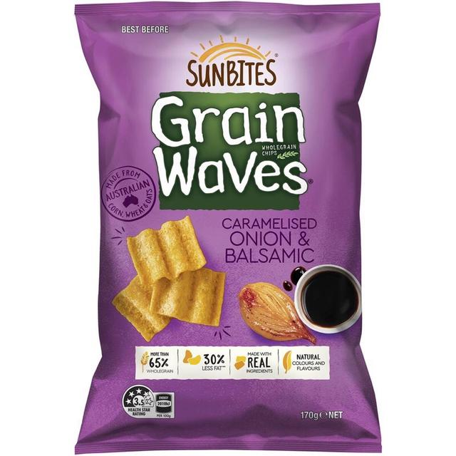 Sunbites Grain Waves 陽光波浪穀物 玉米片 波浪餅乾 170g
