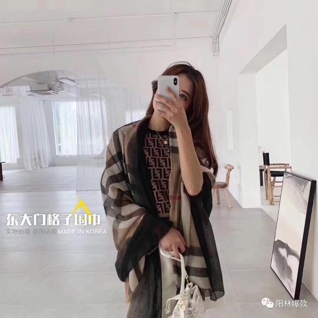 (預購e) 韓國東大門 🇰🇷 格子圍巾